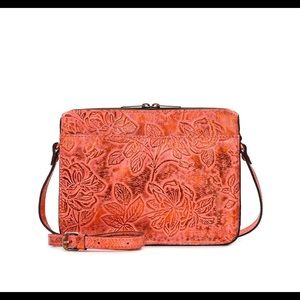 patricia nash Nazair Crossbody Burnt Coral